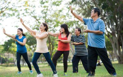 Étirements en plein air – QI Gong